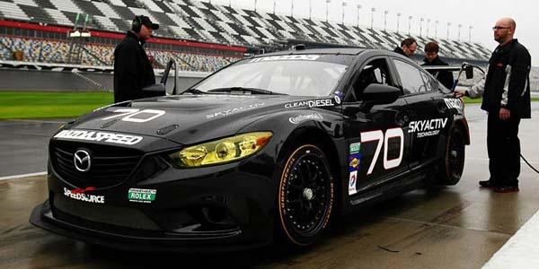 Mazda Siapkan Mobil Balap Irit Bermesin Diesel