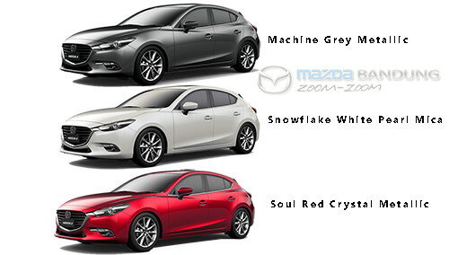 Pilhan warna All New Mazda3