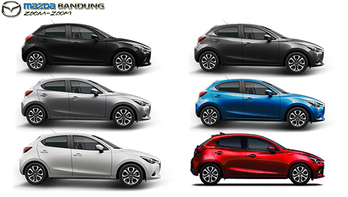 Pilihan Warna Mazda2