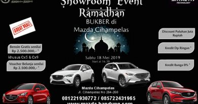 Showroom Event Ramadhan Mazda
