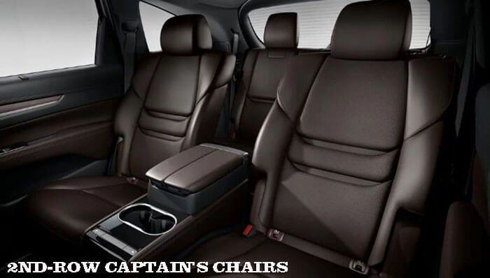 2ND-ROW CAPTAIN'S CHAIRS