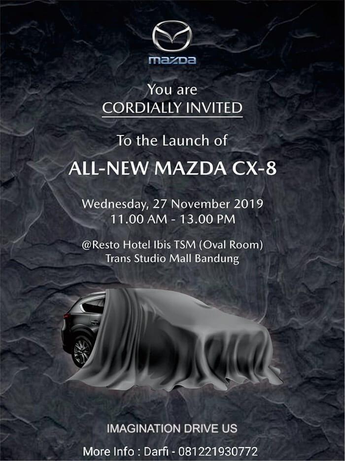 Launching Mazda CX-8 di Bandung