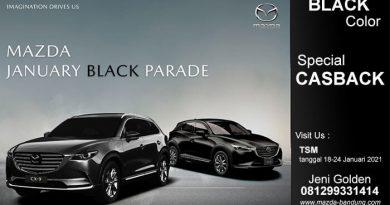 Mazda Bandung Promo January Black Paradise